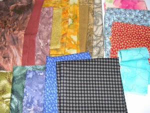 Fat Quarters, mostly blenders..