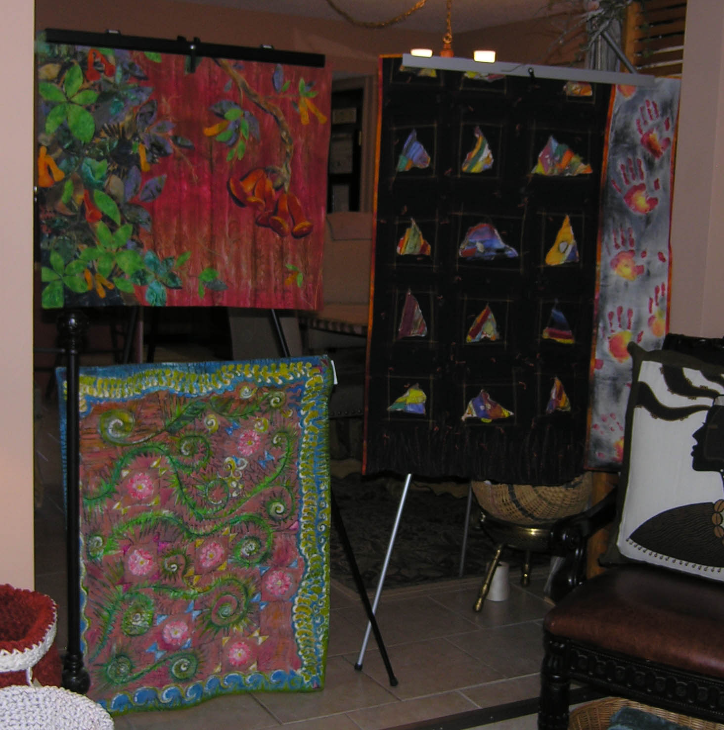 lightweight portable quilt display – Janice Paine Dawes @ Wilde ... : portable quilt stand - Adamdwight.com