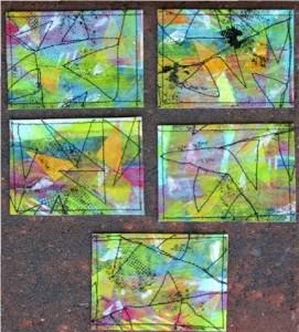 J Paine Dawes  artist trading cards